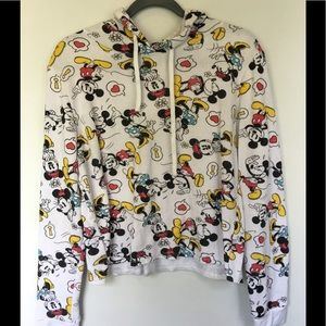 Mickey Mouse Sweatshirt Soft Medium